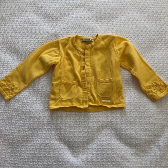 449c7ba20bca57 Mayoral Yellow Baby Girl Cardigan. M 5bf5c665194dad63db9f65d1